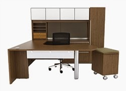 VL-745 Verde Desk Configuration by Cherryman
