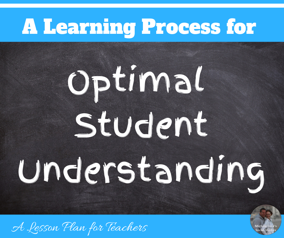 A Learning Process for Optimal Student Understanding