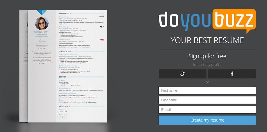 Cinco páginas web para crear tu currículum online en PDF | Oye Juanjo!
