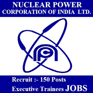 Nuclear Power Corporation of India Limited, NPCIL, Graduation, Executive Trainee, freejobalert, Sarkari Naukri, Latest Jobs, npcil logo