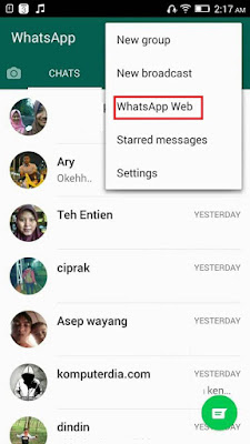 Cara Mudah Menggunakan Whatsapp Di Komputer atau Laptop