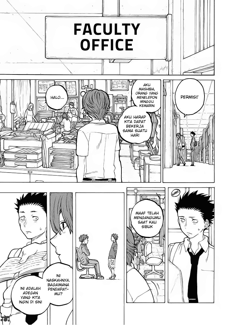 Koe no Katachi Chapter 35-2