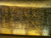 "An illicit photo taken inside the ""Great Temple"" of Rameses II at Abu Simbel, Egypt"