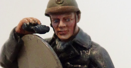 Belgian Renault ACG1 – Renault ACG1 belge (diorama part - the tank officer)