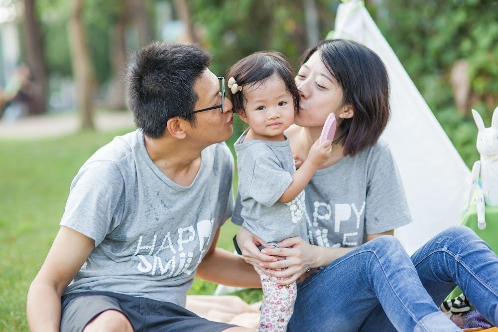 台北戶外全家福兒童家庭攝影推薦
