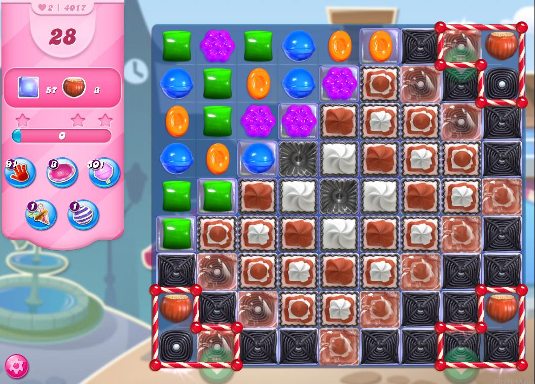 Candy Crush Saga level 4017