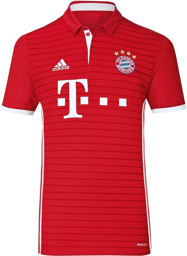 Adidas lança a nova camisa titular do Bayern de Munique - Show de ... 557243fbfa96c