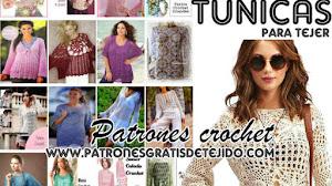 20 Patrones Gratis de Túnicas para tejer / Colección