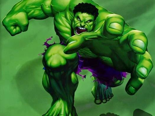 Bruce Banner aka the Incredible Hulk