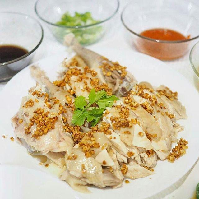 Resep & Cara Membuat Ayam Pek Cam Kee / Ayam Rebus - Resep Aye