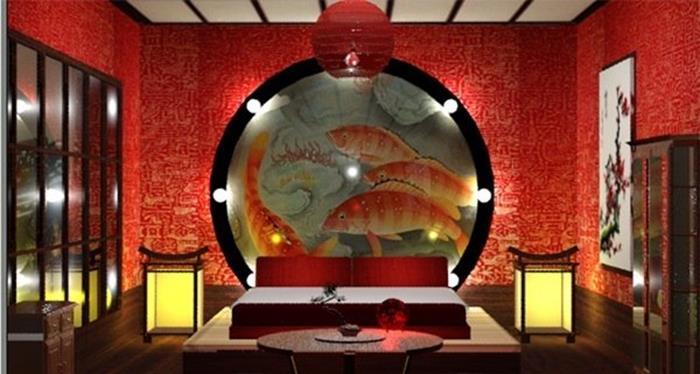 japonya geleneksel yatak odası tasarımı