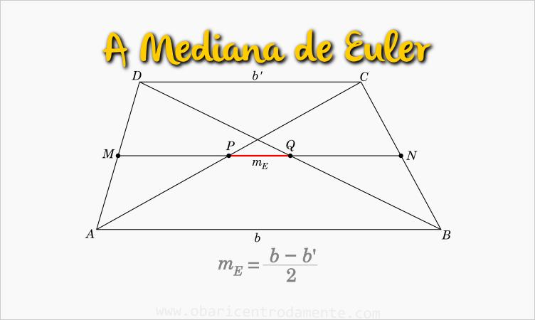 A mediana de Euler