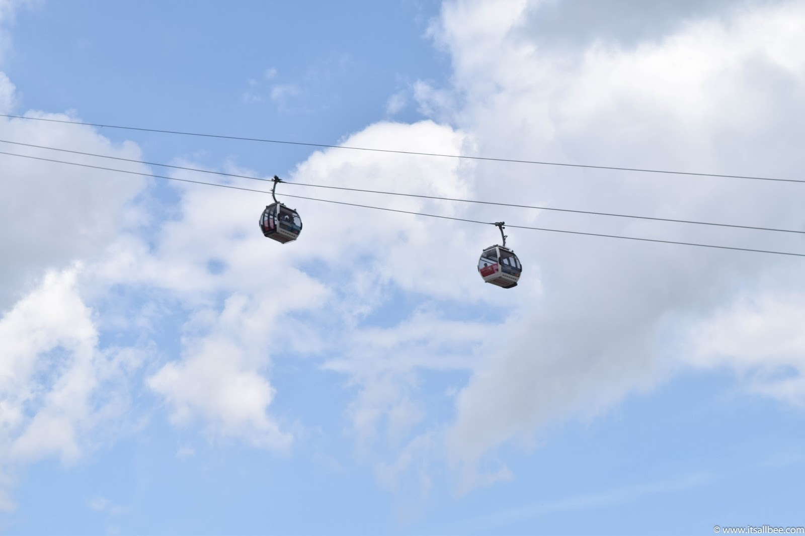 North Greenwich emirates cable cars