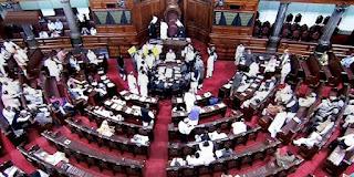 rajya-sabha-proceedings-adjourned-till-wednesday-due-to-sp-s-uproar