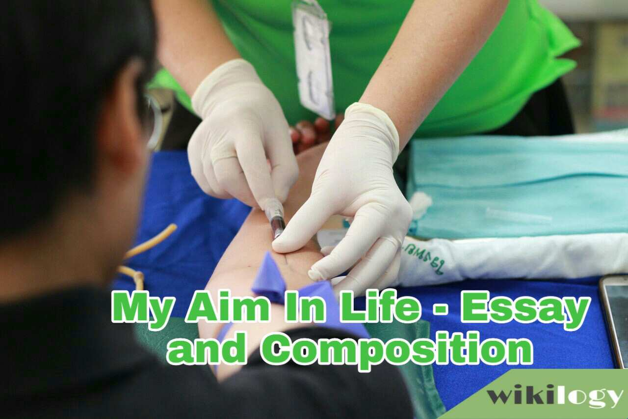 My Aim in Life Essay and Composition