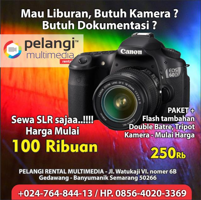 HP. 0856-4020-3369 / Sewa Kamera Canon EOS 60D