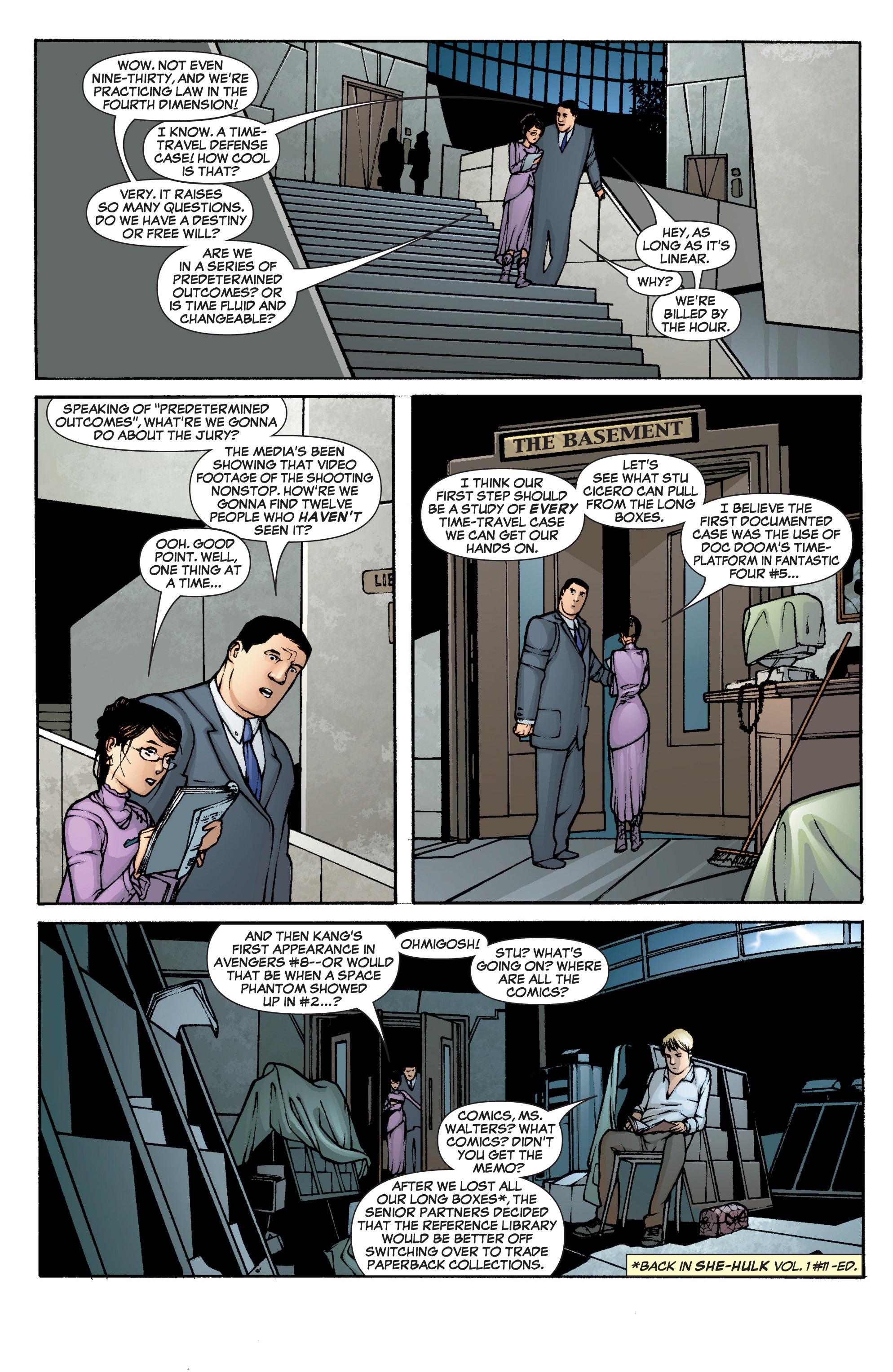 Read online She-Hulk (2005) comic -  Issue #1 - 8