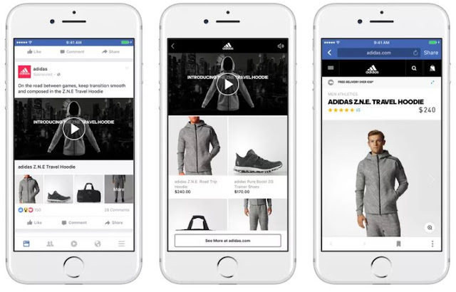Facebook lance Collections