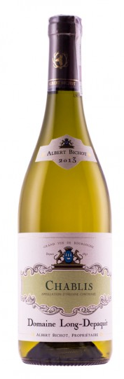 Pudełko na wino Chablis, Domaine Long-Depaquit