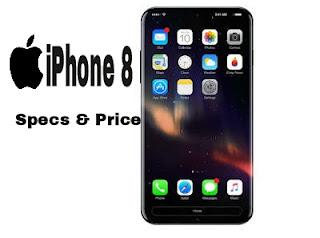 iPhone 8, iPhone 8 Plus: Specs and Price In U.S, Nigeria, India