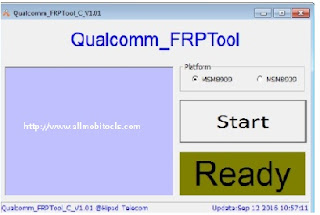 Download Qualcomm FRP Unlock/Remove/Bypass Tool 2018