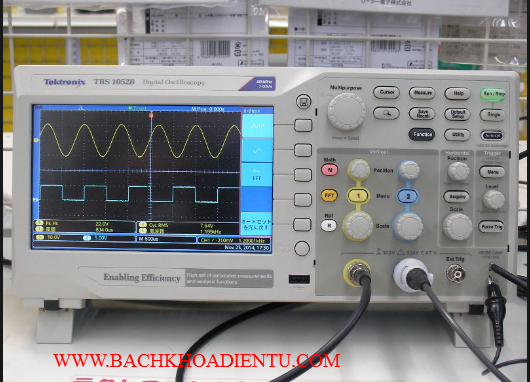 may hien song tektronix tbs 1052b