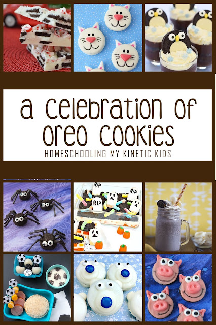 A Celebration of Oreo Cookies // Homeschooling My Kinetic Kids // cute kid-friendly recipes and learning ideas with oreos