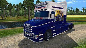 Trans Europe skin for Scania T Longline