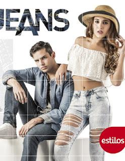 catalogo estilos jeans de moda  : pv 2016 2017