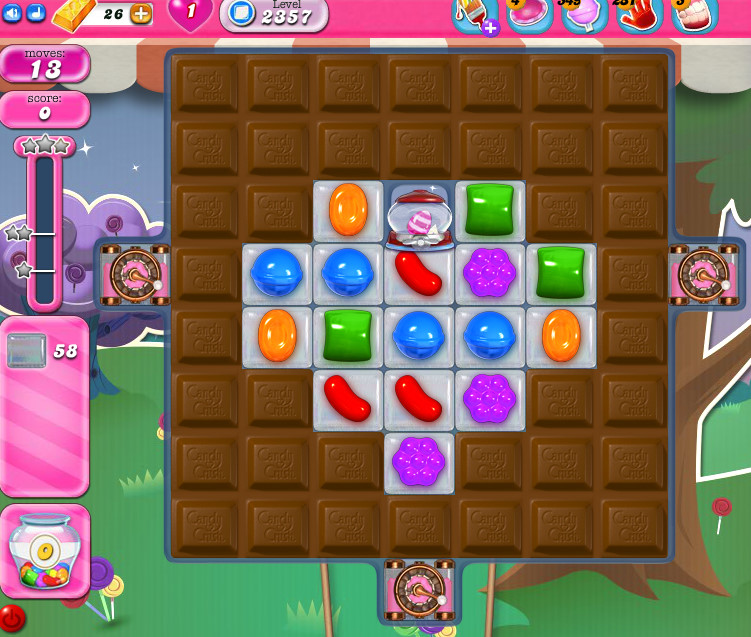 Candy Crush Saga level 2357