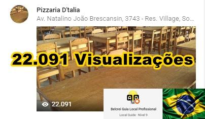 Pizzaria D'talia - Sorriso - MT