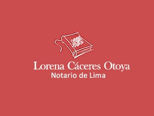 Notaría Cáceres Otoya