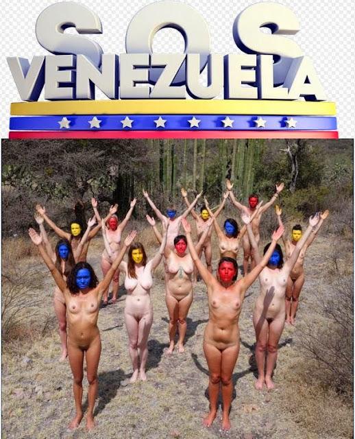 Resultado de imagen para NUDISMO  PROTESTA DE OPOSICION