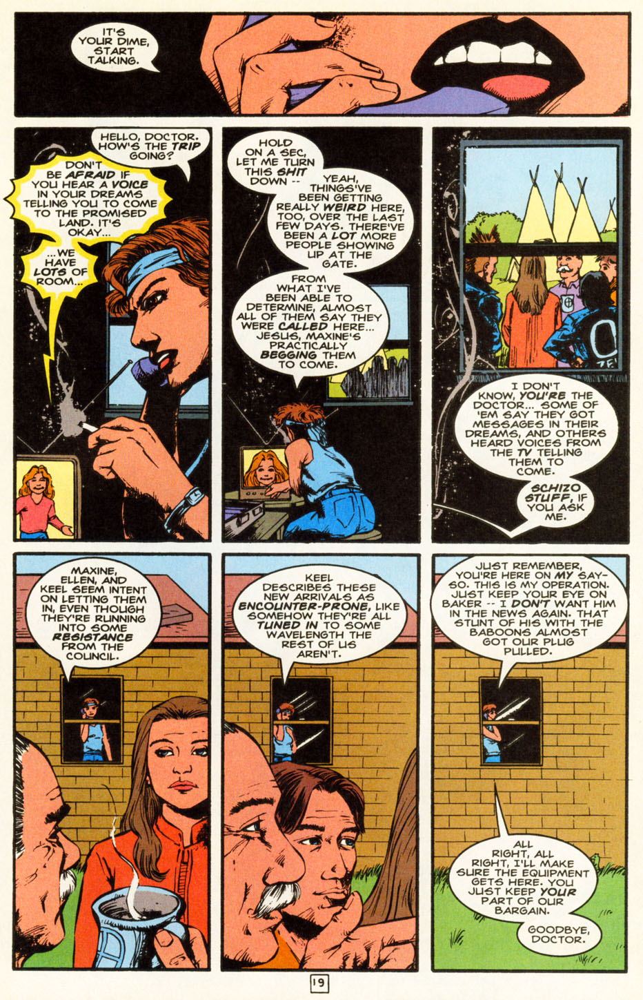 Read online Animal Man (1988) comic -  Issue #85 - 20