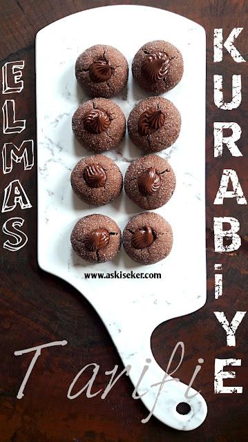 Elmas Kurabiye Tarifi nasıl yapılır çikolatalı çocuk kurabiyesi tatlısı kolay nefis tatlı yemek tarifleri. turkish dessert cookies recipe delicious yummy taste tasty