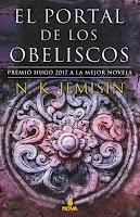 Resultado de imagen de EL PORTAL DE LOS OBELISCOS de N.K.Jemisin (Nova)