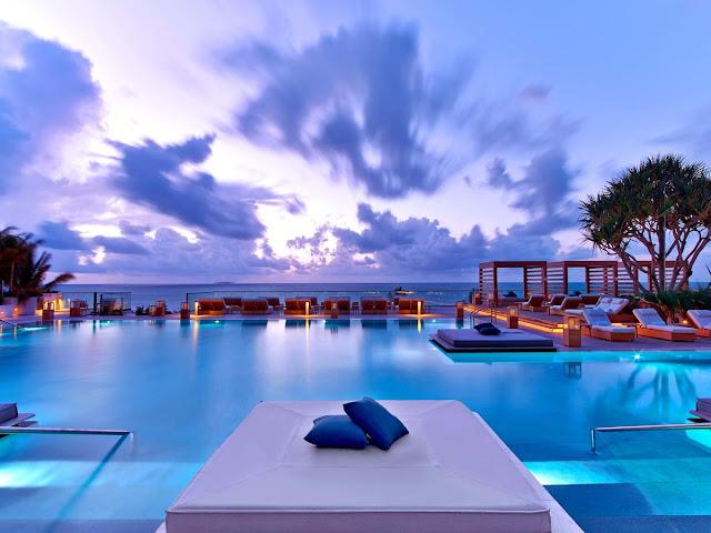 1 Hotel South Beach em Miami Beach: piscina