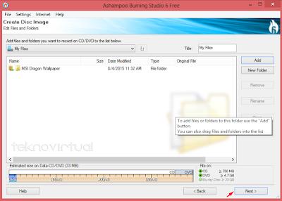 Cara Membuat File ISO Dari Data Folder 5
