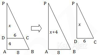 Konsep segitiga sebangun