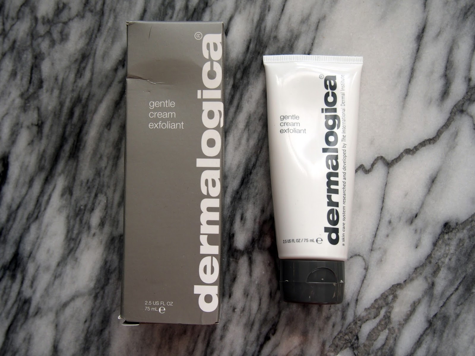 Review Dermalogica Gentle Cream Exfoliant Shrinking Wallet