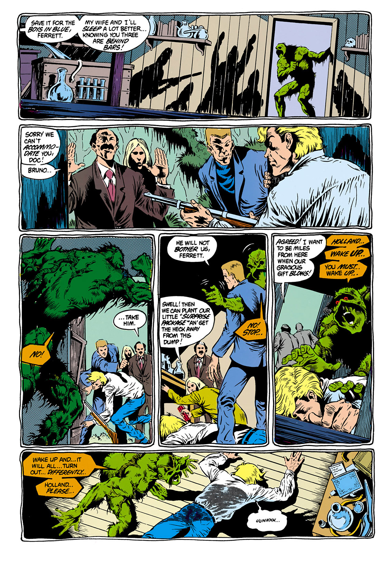 Swamp Thing (1982) Issue #28 #36 - English 14