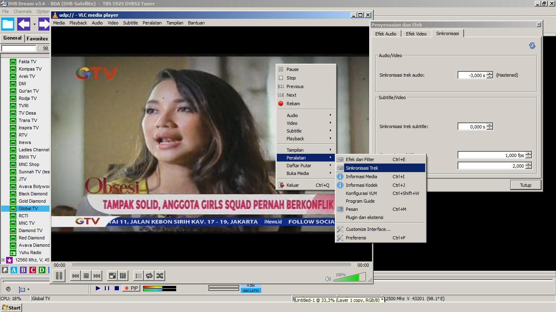 Cara Sinkronisasi Audio Video Channel di Ninmedia