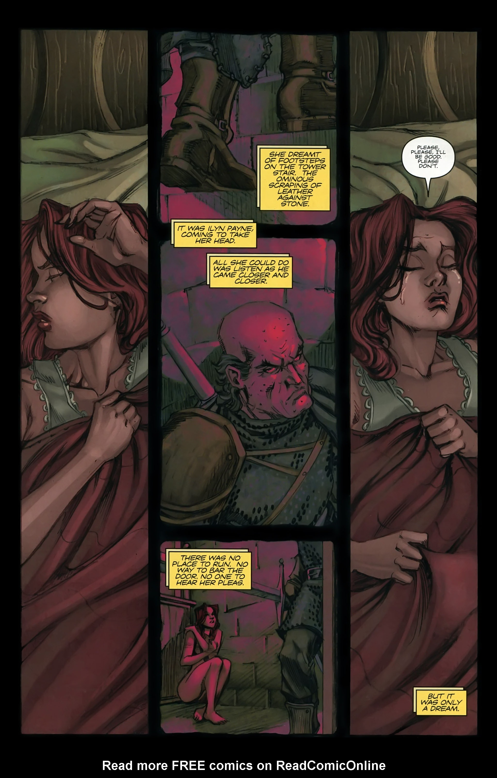 Read online A Game Of Thrones comic -  Issue #22 - 4