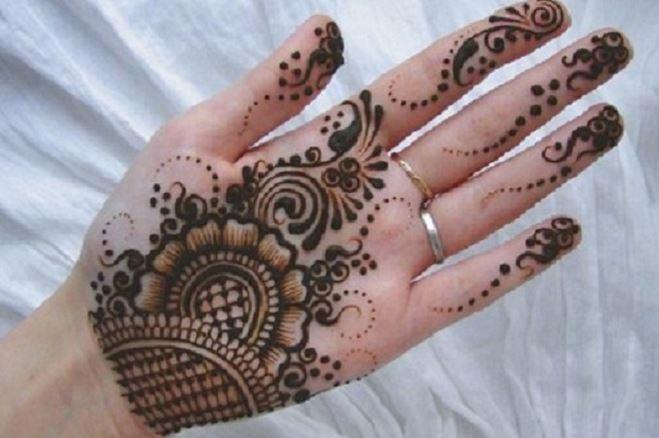 Front Hand Henna Mehndi Design : Latest mehndi designs for hands updated beauty