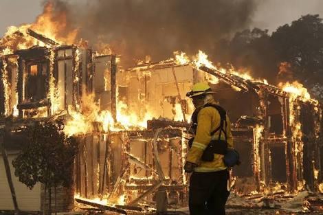 Atleast 10 dead California Fire