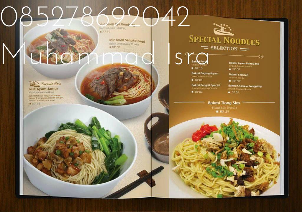 Desain Menu Cafe Sasolo Annafora Co