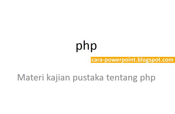 Cara Menggunakan pptPlex di Powerpoint