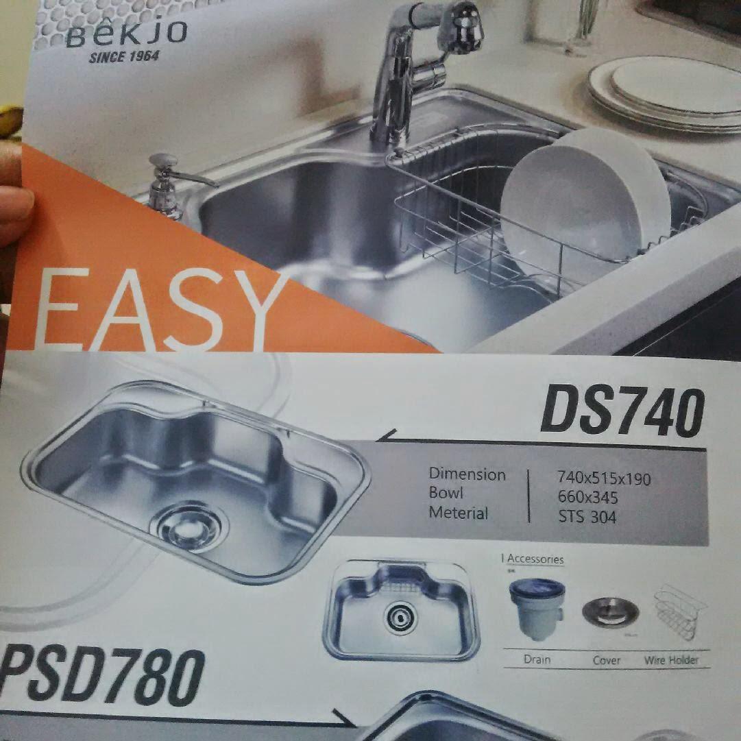 1st Sink Yg We All Berkenan Brand Bekjo From Korea Tetiba Plak Macam Tukar Selera Kepada 1 Bowl Hahaha Bley Tu Sbb Dia Siap Bg Wire