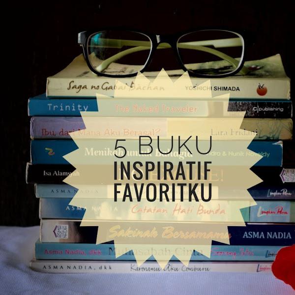 5 Buku Inspiratif Favoritku