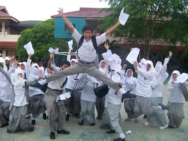 Kegiatan setelah Ujian berakhir